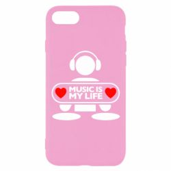 Чохол для iPhone 8 Music is my life