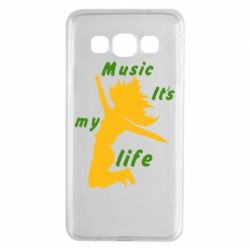 Чохол для Samsung A3 2015 Music it's my life