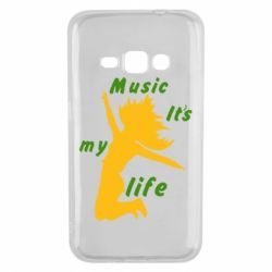 Чохол для Samsung J1 2016 Music it's my life