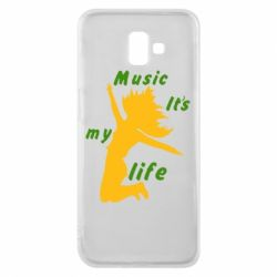 Чохол для Samsung J6 Plus 2018 Music it's my life