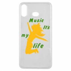 Чохол для Samsung A6s Music it's my life