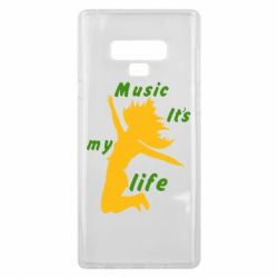 Чохол для Samsung Note 9 Music it's my life