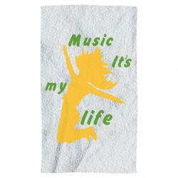 Рушник Music it's my life