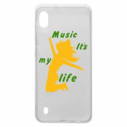 Чохол для Samsung A10 Music it's my life