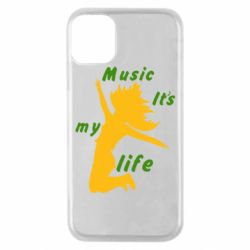Чохол для iPhone 11 Pro Music it's my life