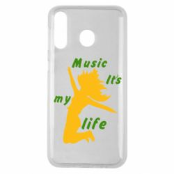 Чохол для Samsung M30 Music it's my life