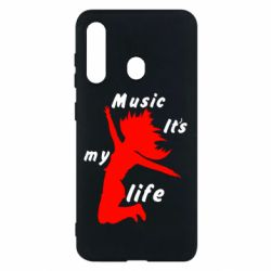 Чохол для Samsung M40 Music it's my life