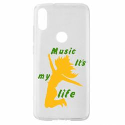 Чохол для Xiaomi Mi Play Music it's my life