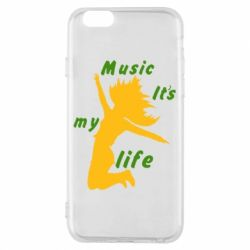 Чохол для iPhone 6/6S Music it's my life