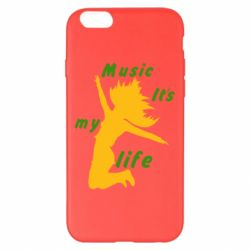 Чохол для iPhone 6 Plus/6S Plus Music it's my life