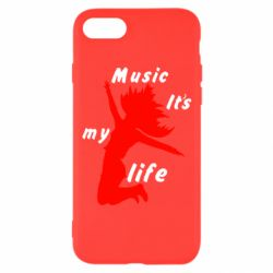 Чохол для iPhone 7 Music it's my life