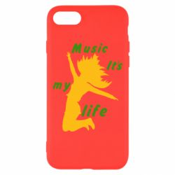 Чохол для iPhone 8 Music it's my life
