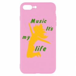 Чохол для iPhone 8 Plus Music it's my life