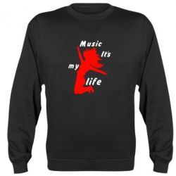 Реглан Music it's my life - FatLine