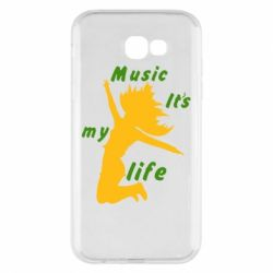 Чохол для Samsung A7 2017 Music it's my life