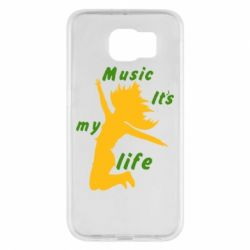 Чохол для Samsung S6 Music it's my life