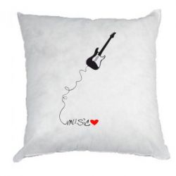 Подушка love Music