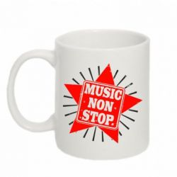 Кружка 320ml Music NON Stop