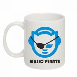 Кружка 320ml Music pirate