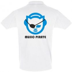 Футболка Поло Music pirate - FatLine