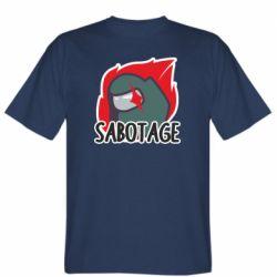 Чоловіча футболка Among Us Sabotage