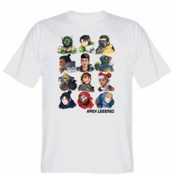 Чоловіча футболка Apex legends heroes