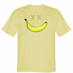 Мужская футболка Banana smile