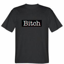 Мужская футболка Bitch glitch