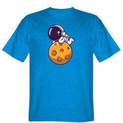 Чоловіча футболка Chilling on the Moon
