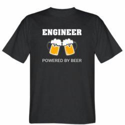 Чоловіча футболка Engineer Powered By Beer