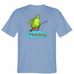 Мужская футболка Fish Fishing