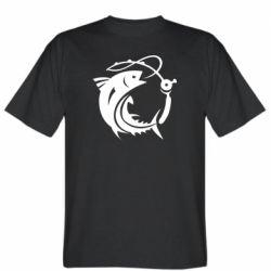 Чоловіча футболка Fish on the hook