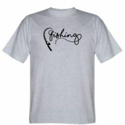 Чоловіча футболка Fishing and fishing rod