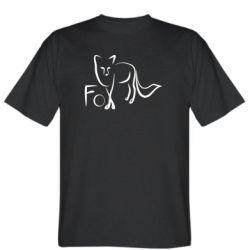 Чоловіча футболка Fo vector