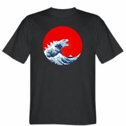 Чоловіча футболка Godzilla Wave