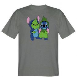 Чоловіча футболка Грінч і Стіч