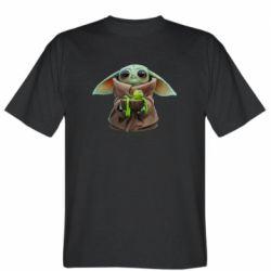 Чоловіча футболка Grogu and Kermit