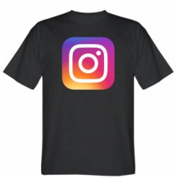 Чоловіча футболка Instagram Logo Gradient