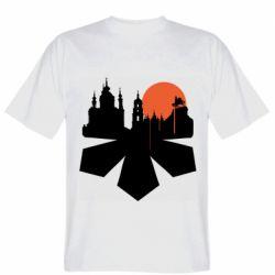 Чоловіча футболка Kiev city of chestnuts