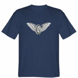 Чоловіча футболка Колесо та крила