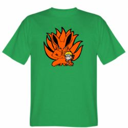 Чоловіча футболка Kurama And Naruto