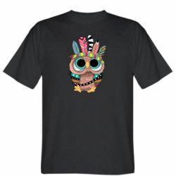 Чоловіча футболка Little owl with feathers