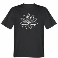 Чоловіча футболка Lotus yoga