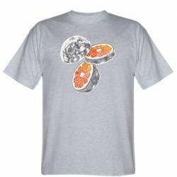 Чоловіча футболка Місяць в розрізі