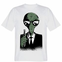 Чоловіча футболка Люди в черном пародия
