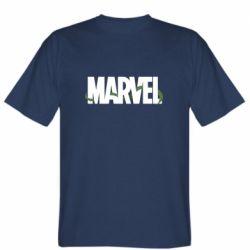 Мужская футболка Marvel logo and vine