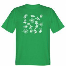 Чоловіча футболка Наскальний Живопис