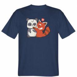 Чоловіча футболка Panda and fire panda