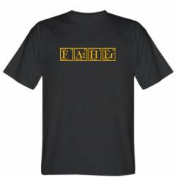 Чоловіча футболка Тато - Таблиця Менделєєва