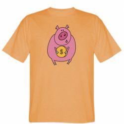 Чоловіча футболка Pig and $